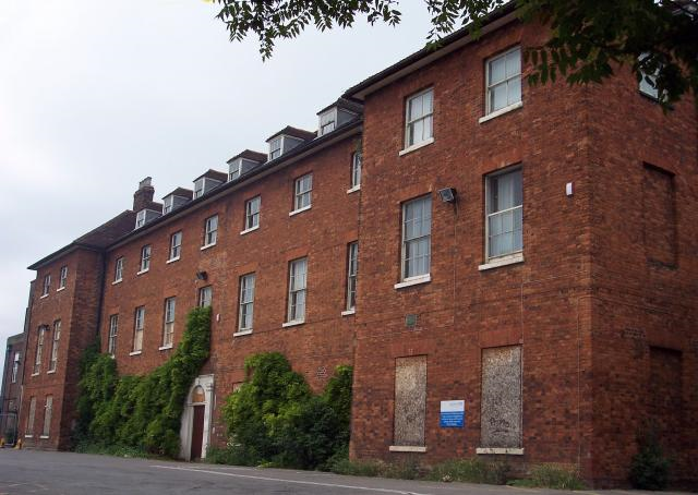 The Bedford Union Workhouse building today.
